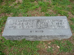 Mary Ann <i>Little</i> Lawrence