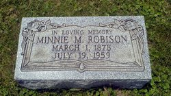 Mina May Minnie <i>Howard</i> Robison