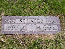 Mary Elizabeth <i>Butterworth</i> Schafer
