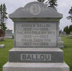 Phillissa <i>Cole</i> Ballou