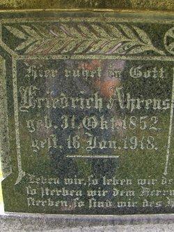 Friedrich Johann Ahrens