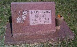 Mary Emma <i>Swank</i> McKay