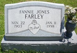 Fannie <i>Jones</i> Farley