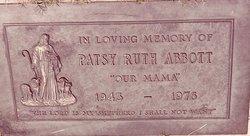 Patsy Ruth Abbott