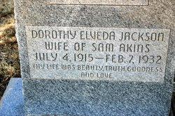 Dorothy Elveda <i>Jackson</i> Akins