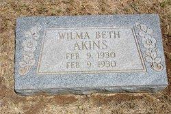 Wilma Beth Akins