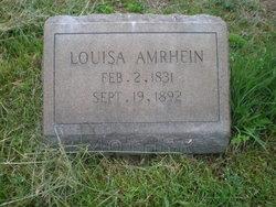 Louisa <i>Yocum</i> Amrhein