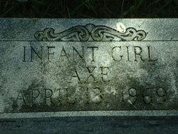Infant Girl Axe