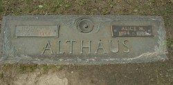 Alice M <i>Prather</i> Althaus