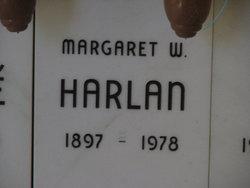 Margaret <i>Williams</i> Harlan