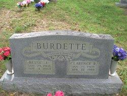 Bessie E Burdette
