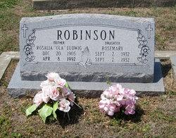 Rosalia Genevieve Ola <i>Ludwig</i> Robinson