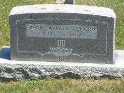 Maude <i>Warner</i> Bedford