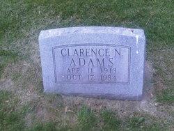 Clarence N Adams
