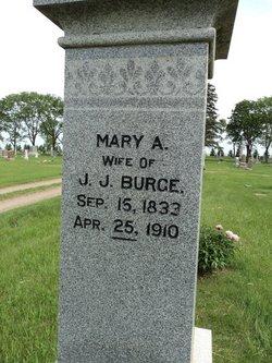 Mary Ann <i>Lawrence</i> Burge