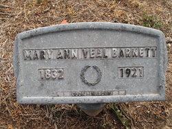 Mary Ann <i>Veal</i> Barnett