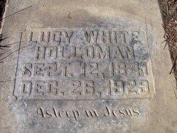 Lucy Claiborne <i>White</i> Holloman