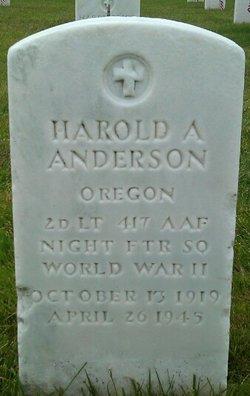 Harold A Anderson