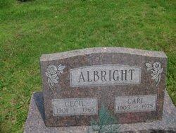 Cecil <i>Hopkins</i> Albright