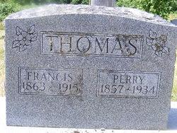 Eliza Francis <i>Vanderpool</i> Thomas