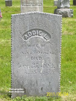 Addie L. <i>Rich</i> Bowen