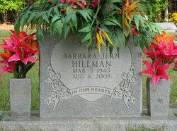 Barbara Jean <i>Merritt</i> Hillman