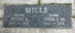 Nettie E <i>Cox</i> Mills