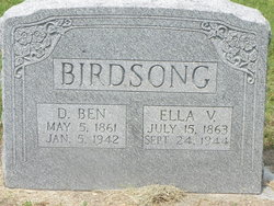 Dolphus Benton Ben Birdsong