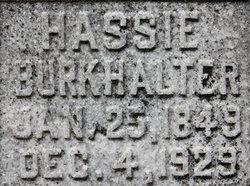 Parthenia Haseltine <i>Ray</i> Burkhalter