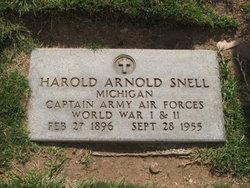 Harold Arnold Snell