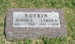 Minnie P <i>Bullock</i> Botkin