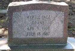 Myrtle Inez <i>Barnes</i> Drane
