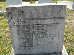 Carrie <i>Booth</i> Allison