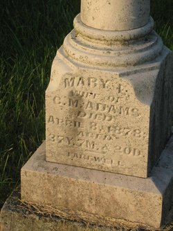 Mary E Adams