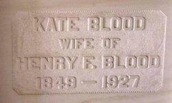 Kate <i>Whitaker</i> Blood