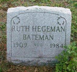 Ruth Frances <i>Hegeman</i> Bateman