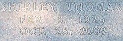 Shirley <i>Thomas</i> Gay