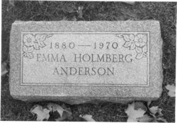 Emma Alfreda <i>Holmberg</i> Anderson