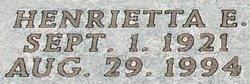Henrietta E. <i>Millet</i> Conn