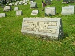 Mary Jane <i>Smith</i> Benner
