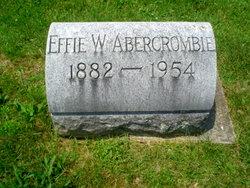 Effie W. Abercrombie