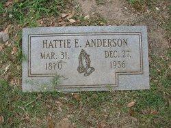 Hattie E. Anderson