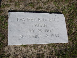 Eva Mae <i>Brundage</i> Hagan