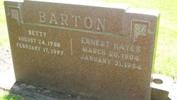 Betty <i>Walker</i> Barton