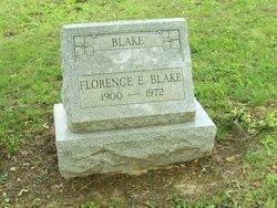 Florence E <i>Saylor</i> Blake