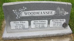 Martha Ruth <i>Clements</i> Woodmansee