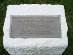 Caroline <i>Butler</i> Atwood
