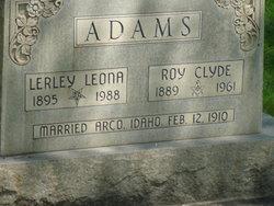 Lerley Leona Adams