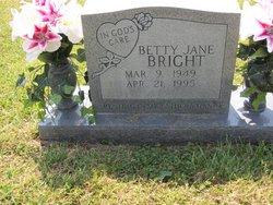 Betty Jane <i>Everett</i> Bright