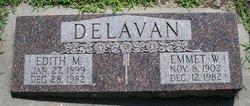 Edith Mae <i>Newman</i> Delavan